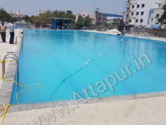 Sama Yadava Reddy Olympic size swimming pool