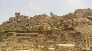 A_View_of_Golconda_Fort